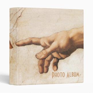 Álbum de foto - la creación de Adán