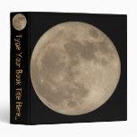 Álbum de foto personalizado carpeta de la Luna