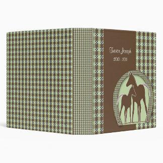 Álbum de foto personalizado del caballo
