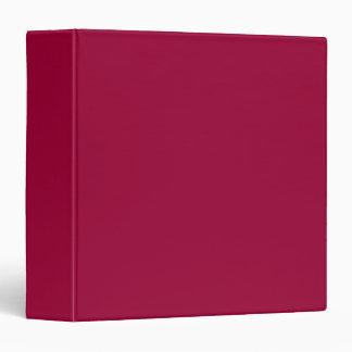 """Álbum de foto rojo oscuro llano de Borgoña, carpet Carpeta 1 1/2"""""""