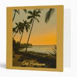 Álbum de foto tropical de la playa