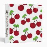 Álbum de la receta de la cereza