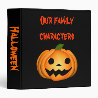 """Álbum de los recuerdos de Halloween Carpeta 1 1/2"""""""