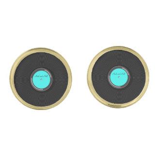 Álbum de registro gemelos dorados