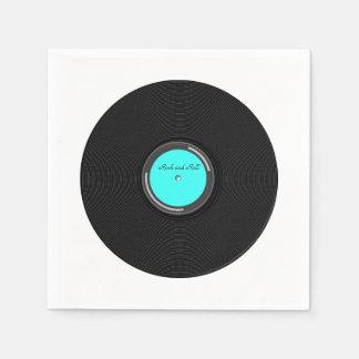 Álbum de registro servilletas desechables