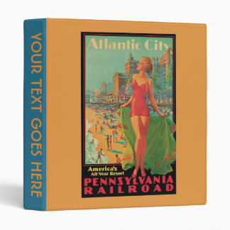 Álbum del anuncio del viaje de Atlantic City del v