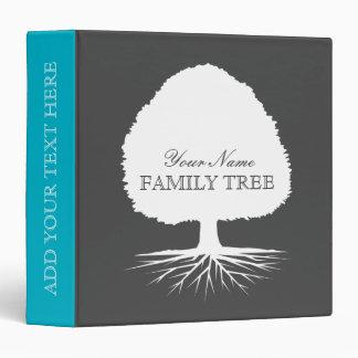 "Álbum del árbol de familia de la ascendencia de carpeta 1 1/2"""