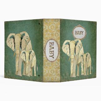 """Álbum del bebé de los elefantes blancos carpeta 2"""""""