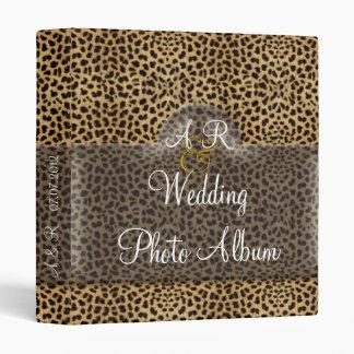 Álbum del boda del leopardo