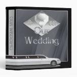 Álbum del boda del Limo de estiramiento con de la