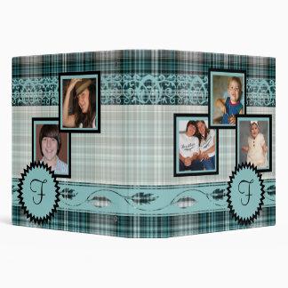 Álbum del monograma de la fotografía de la familia