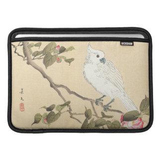 Álbum del pájaro y de la flor, Cockatoo y camelia Fundas Macbook Air