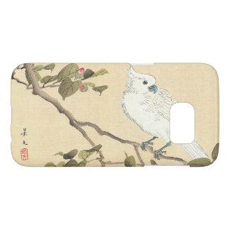 Álbum del pájaro y de la flor, Cockatoo y camelia Funda Samsung Galaxy S7