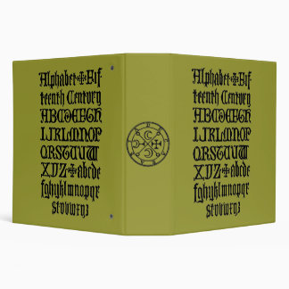 "Álbum del siglo XV del alfabeto Carpeta 2"""
