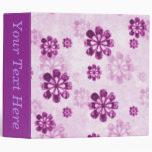 Álbum floral de la carpeta de Avery del Grunge de