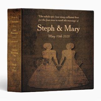 """Álbum legendario del regalo de Love Story para un Carpeta 1 1/2"""""""