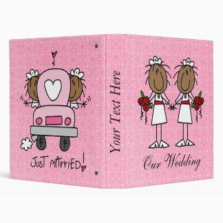 Álbum lesbiano de encargo del boda