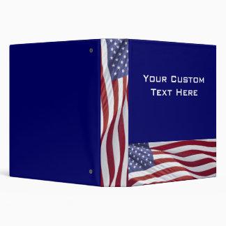 Álbum patriótico de la carpeta de la presentación