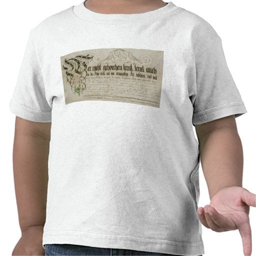 Album sheet, 1789 t-shirts
