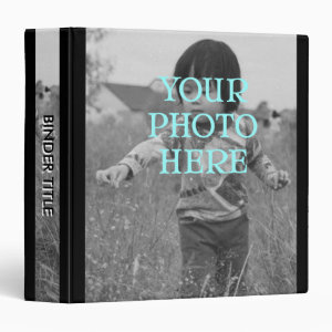 Album w/ Title, Full Photo Covers and Spine Binder