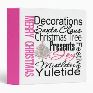 Álbum y carpeta de foto de las Felices Navidad