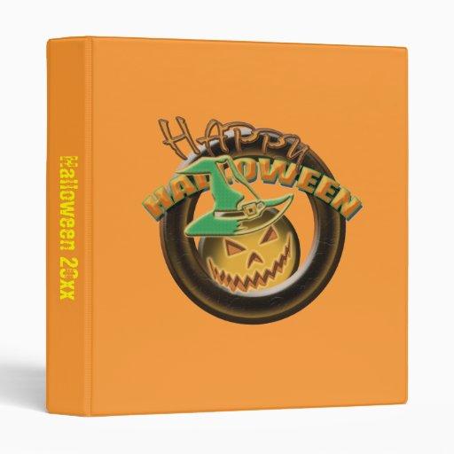 "Álbumes del feliz Halloween de la bruja de la Carpeta 1"""