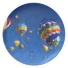 Albuquerque Balloon Festival Melamine Plate