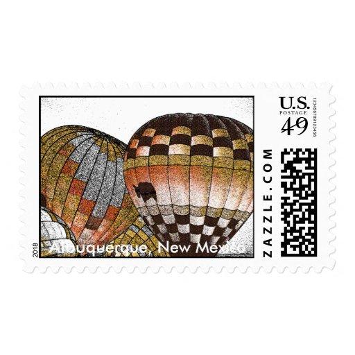 Albuquerque Balloon Fiesta Stamp