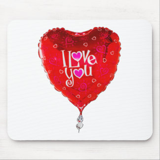 albuquerque balloon i love you mouse pad