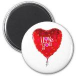 albuquerque balloon i love you refrigerator magnet