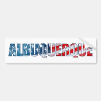 Albuquerque Bumper Sticker