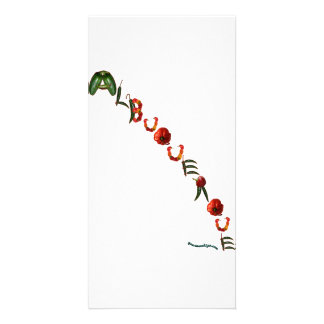 Albuquerque Chili Peppers Card