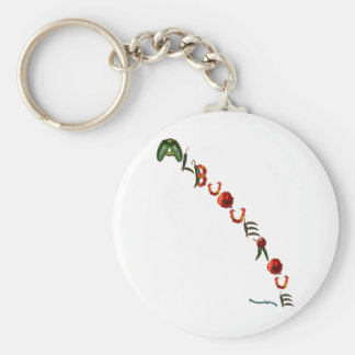 Albuquerque Chili Peppers Keychain
