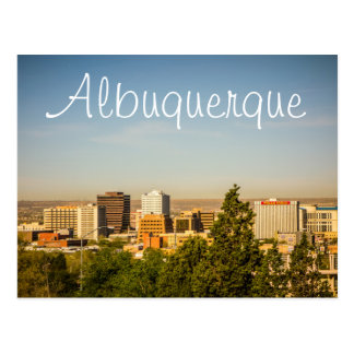 Albuquerque City in New Mexico Postcard