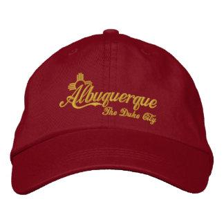 Albuquerque, el duque City Gorra De Beisbol Bordada