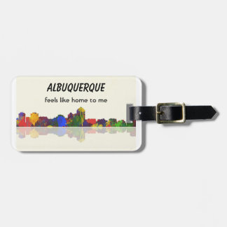 ALBUQUERQUE - etiqueta del equipaje Etiquetas De Equipaje