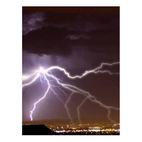 Albuquerque Hellstorm Postcard