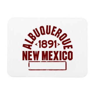 Albuquerque INC Rectangle Magnets