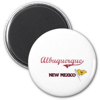 Albuquerque New Mexico City Classic 2 Inch Round Magnet