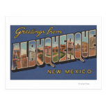 Albuquerque, New México - escenas grandes de la le Postales