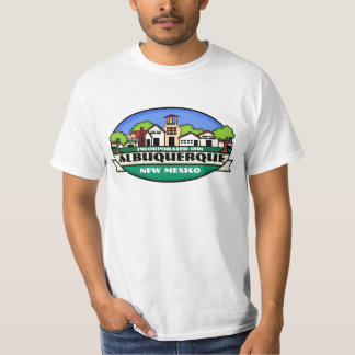 Albuquerque New Mexico guys town value tee