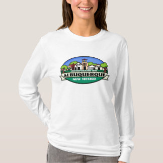 Albuquerque New Mexico ladies town hoodie