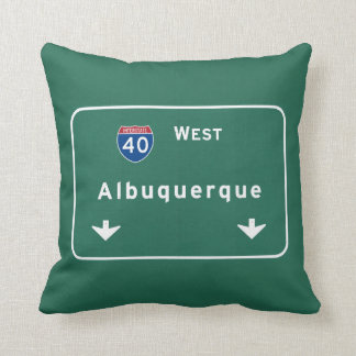Albuquerque New Mexico nm Interstate Highway : Pillow