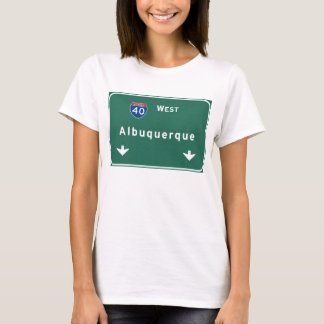 Albuquerque New Mexico nm Interstate Highway : T-Shirt