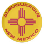 Albuquerque, New México Plato Para Fiesta