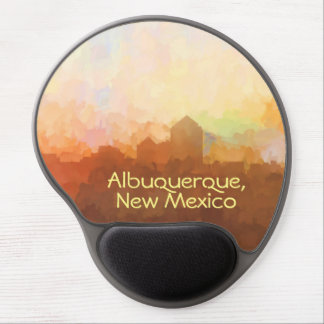 Albuquerque New Mexico Skyline IN CLOUDS Gel Mouse Pad