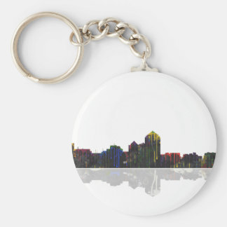 Albuquerque, New Mexico Skyline Keychain