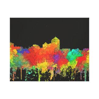 Albuquerque New Mexico Skyline-SG Canvas Print