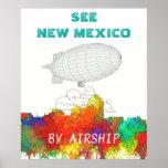 Albuquerque New Mexico Skyline-SG Poster
