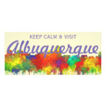 Albuquerque New Mexico Skyline-SG Rack Card
